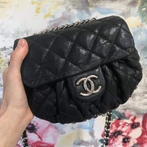 CHANEL Chain Around Flap Bag Mini
